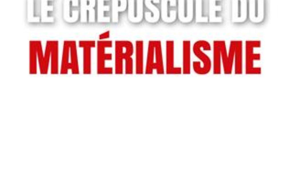 Le dessein intelligent montre l'impasse du matérialisme
