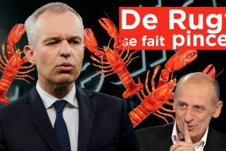 I-Média – Vin, homard… Rugy se fait pincer