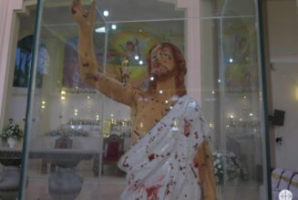 Sri Lanka : Première  messe en l'église Saint Sébastien depuis les attentats de Pâques