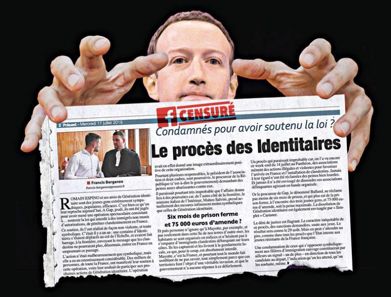 Facebook, cette nouvelle pravda du régime