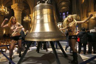 La provocatrice ukrainienne des Femen nommée au Conseil consultatif pour l'Egalité femme homme