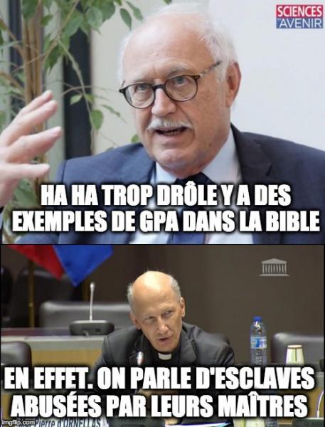 Face à Mgr d'Ornellas, Jean-Louis Touraine fait la promotion de l'esclavage