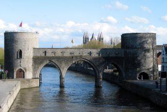 Transformation du Pont des Trous à Tournai