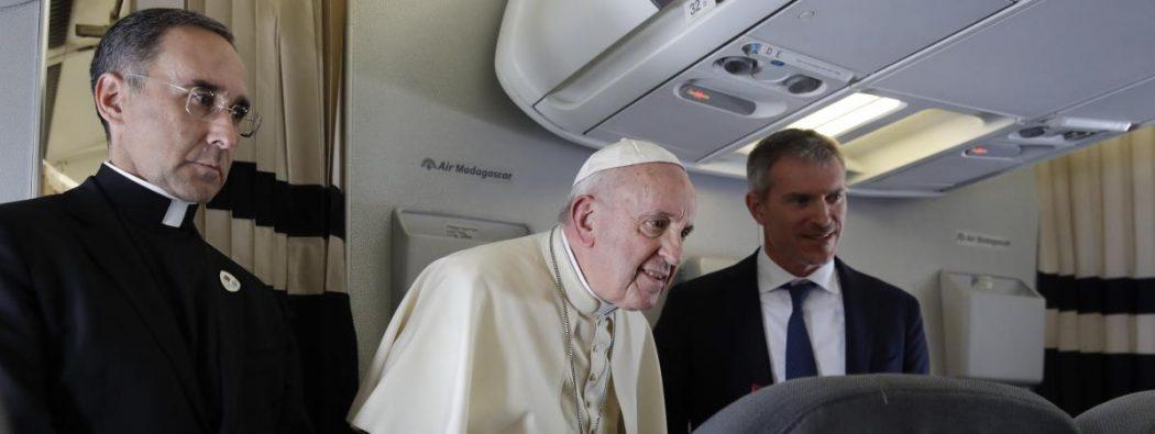 """Père Sylvain Brison : """"On peut tout à fait critiquer le pape et son action: il n'y a pas de pensée unique dans l'Église"""""""