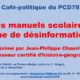17 octobre : Café-politique du PCD 78