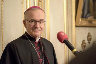 Mgr Batut, évêque de Blois, viendra à la manifestation le 6 octobre