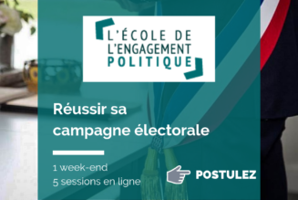 """L'Institut de Formation Politique lance une formation """"Réussir sa campagne électorale"""""""