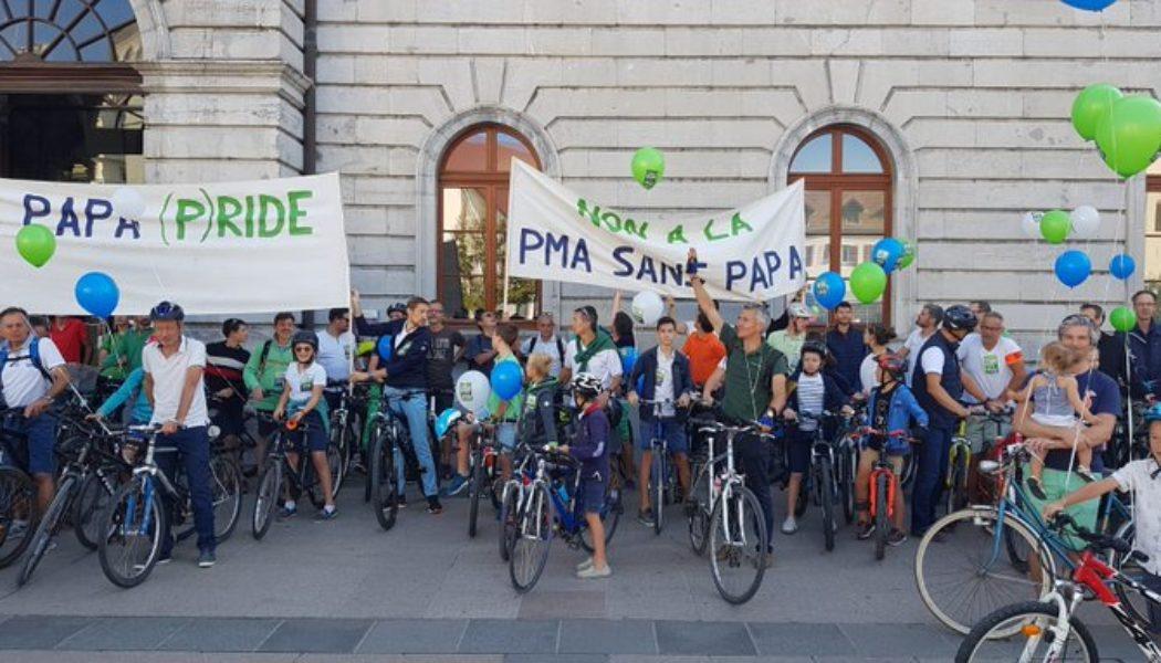 Annecy : des pères se mobilisent contre l'extension de la PMA