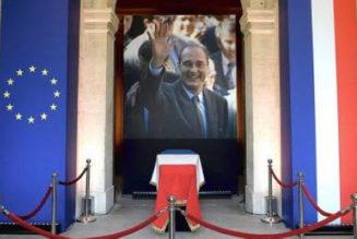 Pourquoi nous ne pleurons pas Jacques Chirac