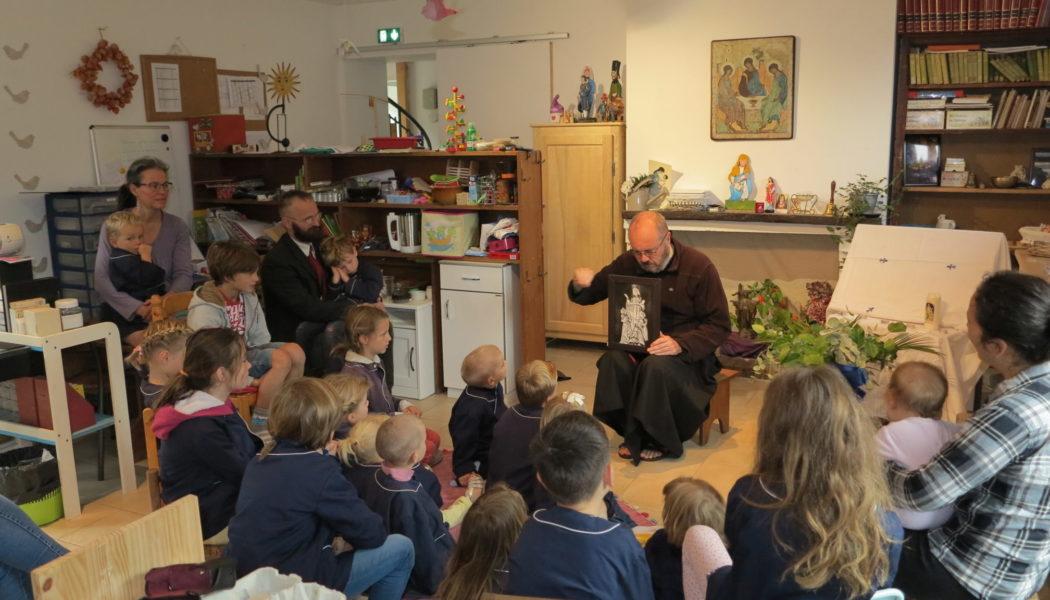 Une école consacrée à Notre Dame des Enfants