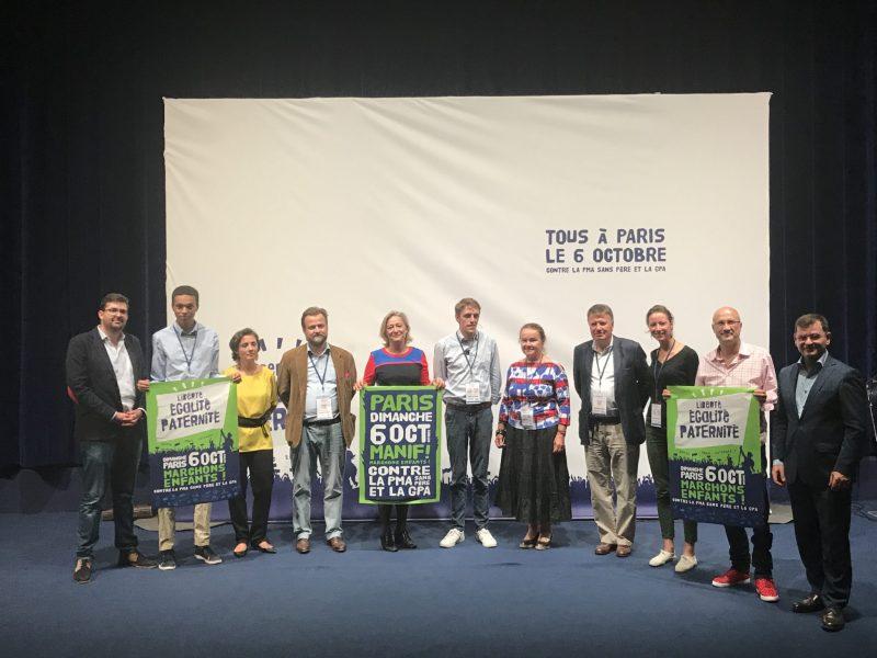 Coup d'envoi de la mobilisation contre le projet de loi bioéthique
