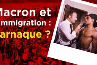 I-Média  Macron et l'immigration : l'arnaque ?