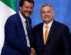 """Orban à Salvini : """"Nous n'oublierons jamais que vous avez été le tout premier dirigeant d'Europe occidentale à mettre un terme à l'afflux d'immigrants clandestins en Europe"""""""