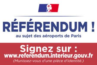 Référendum ADP : 822 000 signatures enregistrées, il en faut 4,7 millions !