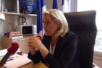 Marine Le Pen votera contre la loi de bioéthique