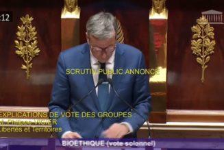 Eugénisme : Philippe Vigier, qui veut traquer les embryons porteurs d'anomalies, s'excuse