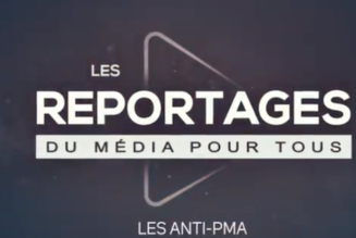 Vincent Lapierre et l'équipe du Média Pour Tous étaient à la manifestation Marchons Enfants