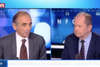 Eric Zemmour face à Philippe Bilger sur le gouvernement des juges