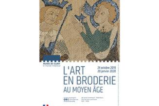 L'art en broderie au Moyen-Age : une exposition au Musée de Cluny
