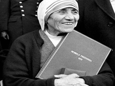 Que disait Ste Mère Térésa, prix Nobel de la Paix ?