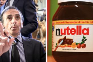 Nutella fait de la politique à peu de frais contre Zemmour tout en exploitant des migrants, parfois mineurs…