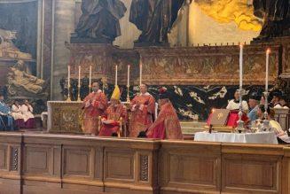 Le pèlerinage Summorum Pontificum est maintenu à Rome