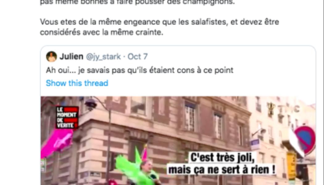« Conglomérat de sous-merdes », « salafistes » :  Marlène Schiappa dérape contre La Manif Pour Tous
