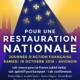 """19 octobre – Avignon: journée d'Action Française """"Pour une Restauration Nationale"""""""