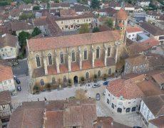 Incendie criminel et satanique dans la cathédrale d'Eauze ?