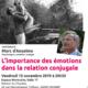 15 novembre : Conférence « L'importance des émotions dans la relation conjugale » avec Marc d'Anselme