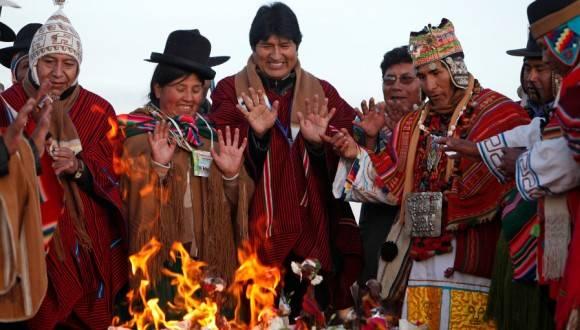 Evo Morales et la Pachamama virés du palais du gouvernement bolivien