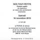 16 novembre : Rosaire SOS Tout-Petits à Paris