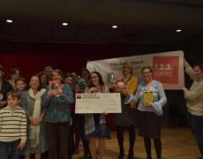 Actuailes a récompensé son lauréat : Judith Bouilloc pour L'Arrache-mots