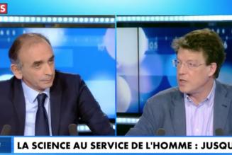 Eric Zemmour face au scientiste Laurent Alexandre sur l'euthanasie, l'intelligence artificielle…