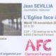 19 novembre : Conférence de Jean Sévillia à Clermont-Ferrand