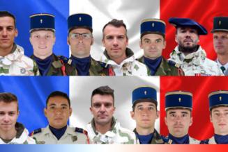 La France ne mourra pas tant qu'il y aura des hommes comme ces treize-là