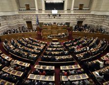 Le parlement grec contre la séparation de l'Église et de l'État