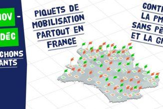 Piquets de mobilisation : pensez à envoyer des photos
