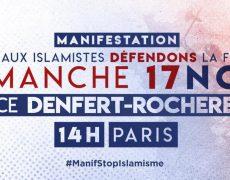 La manifestation du 17 novembre contre l'immigration partira de Denfert-Rochereau