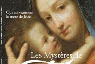 Un numéro de Valeurs Actuelles à Noël sur la Sainte Vierge