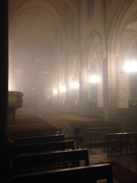 Tentative d'incendie de l'église Saint-Georges à Lyon