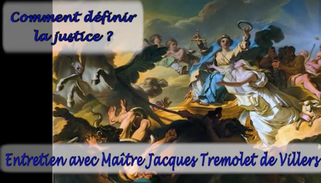 Comment définir la justice ?