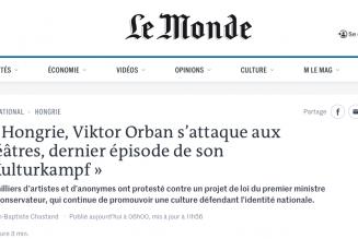 Quand les médias s'attaquent à Orban, ils oublient de regarder comment la France fonctionne…