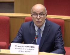 Audition de Jean-Marie Le Méné au Sénat