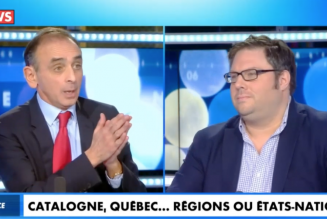 Éric Zemmour face à Mathieu Bock-Côté : « L'immigration a tué le rêve indépendantiste québecois »