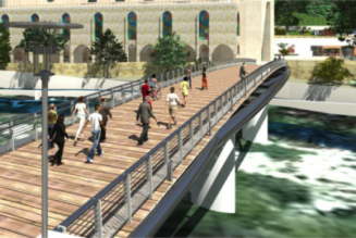 Pour Noël, participez à la construction de la passerelle du site de Notre-Dame des Neiges