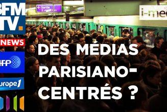 I-Média – Grève : des médias parisiano-centrés et pro-Macron ?
