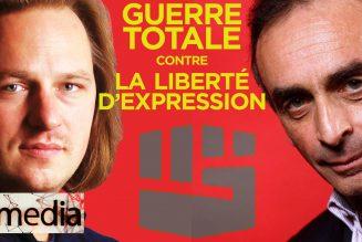 I-Média Zemmour et Valeurs Actuelles attaqués : guerre totale contre la liberté d'expression