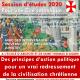 """Session de philosophie politique """"Pour une Cité Catholique"""""""