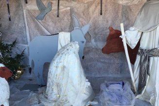 Une crèche de Noël vandalisée dans le Puy-de-Dôme